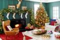 9 дневни соби со божиќен декор